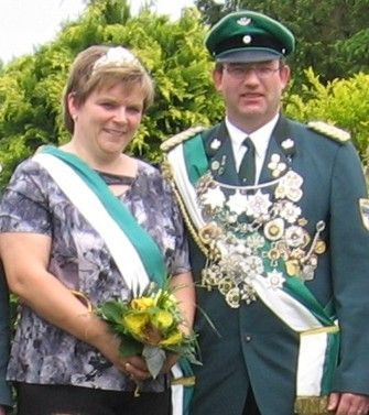 Altkönigspaar Ludwig Aßling & Sabine Aßling