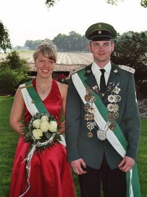 Jungkönigspaar Marcel Rieger & Sabrina Grote