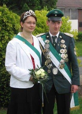 Jungkönigspaar Thorben Stevener & Anja Kalkhake