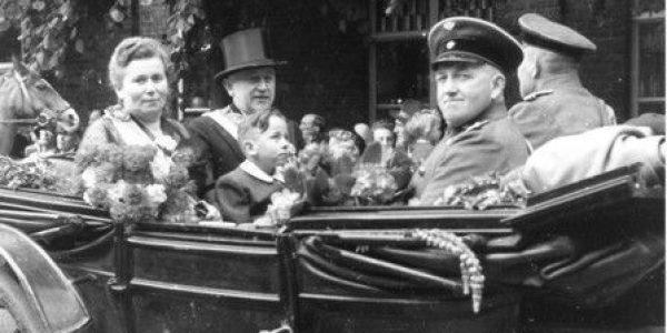 König 1953: Vereinswirt Fritz Wagenfeld